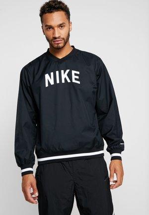TOP WIND SHIRT  - Bluza - black/white