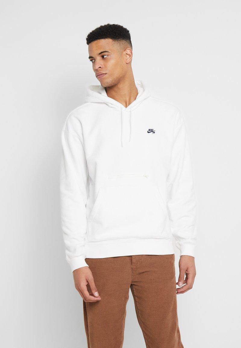 Nike SB - NOVELTY - Hoodie - sail