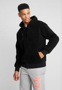 Nike SB - SHERPA  - Fleecejakker - black/black - 0