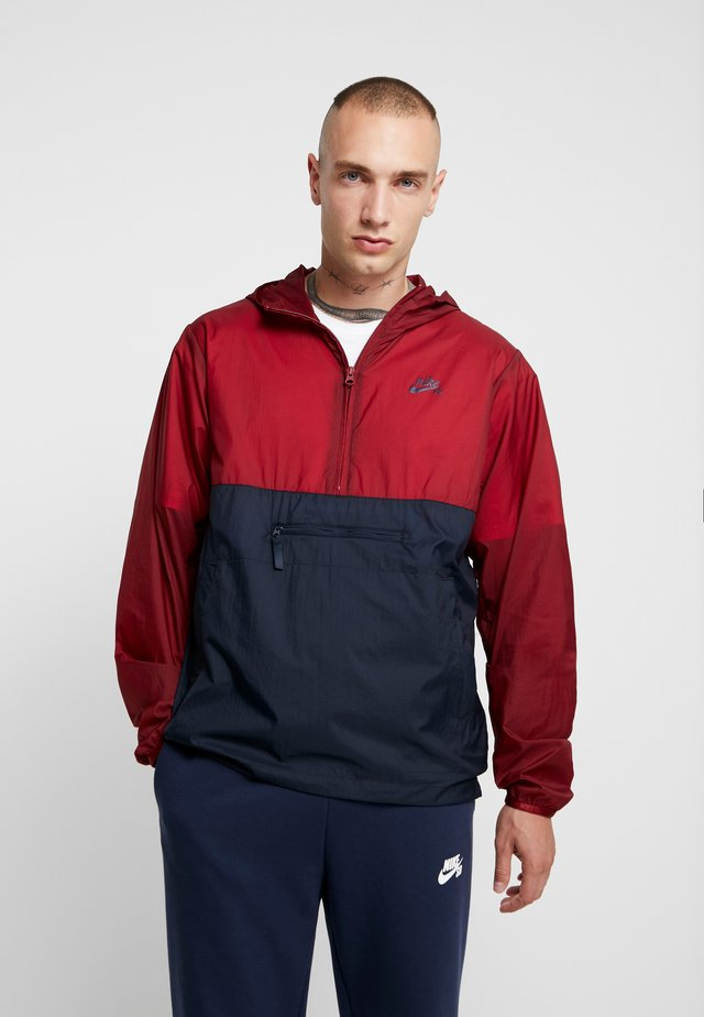 Windbreaker - team red/dark obsidian