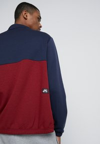 Nike SB - DRY JACKET TRACK - Training jacket - obsidian/team red/obsidian - 5