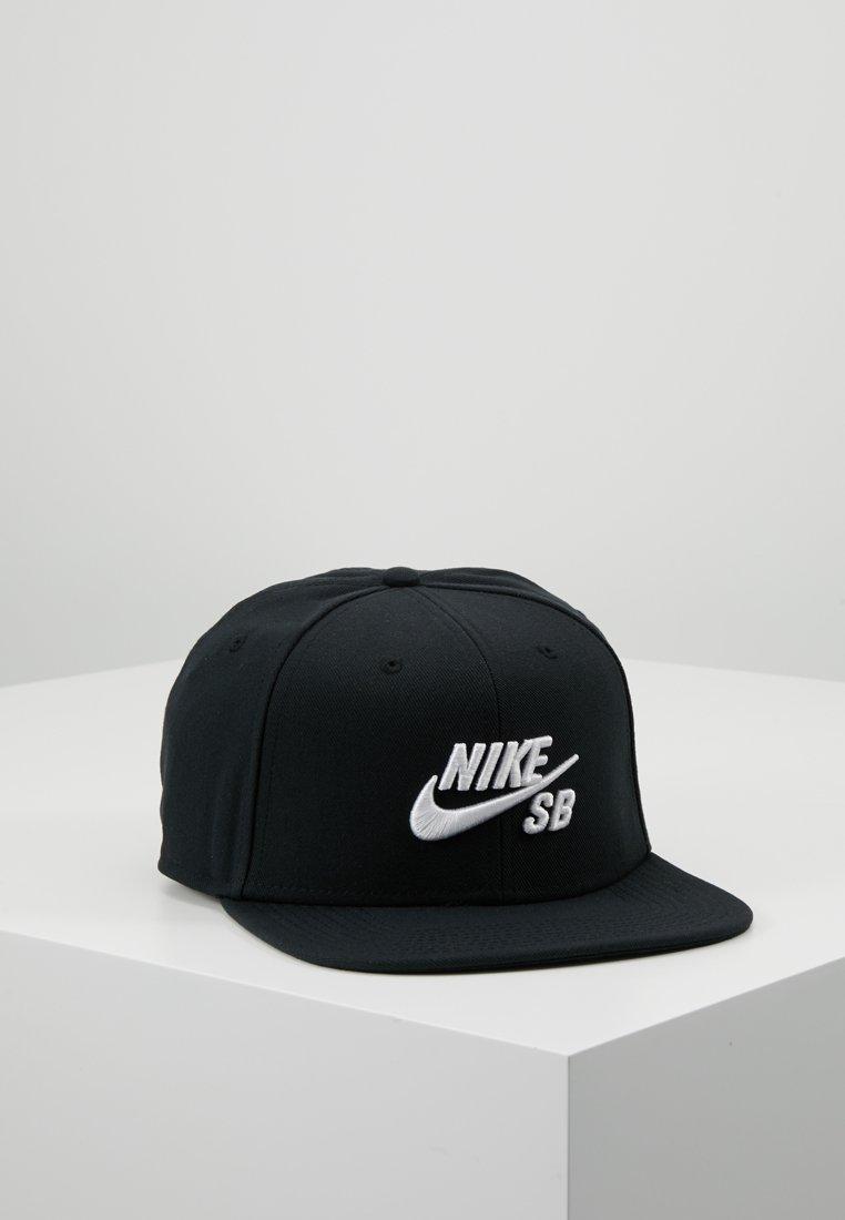 Nike SB - ICON SNAPBACK - Cap - black/white