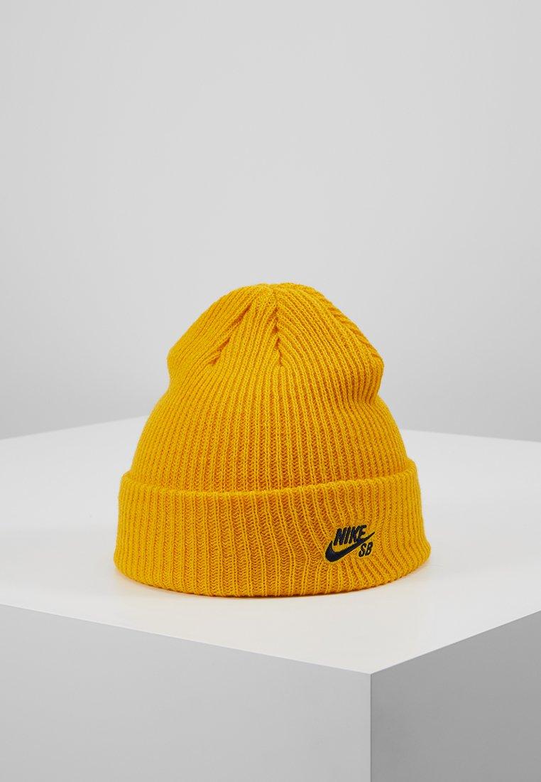 Nike SB - FISHERMAN - Beanie - celestial gold/black