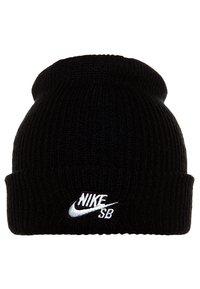 Nike SB - FISHERMAN - Beanie - black/white - 2
