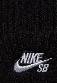 Nike SB - FISHERMAN - Beanie - black/white - 5