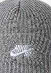 Nike SB - FISHERMAN BEANIE - Gorro - dark grey heather/white