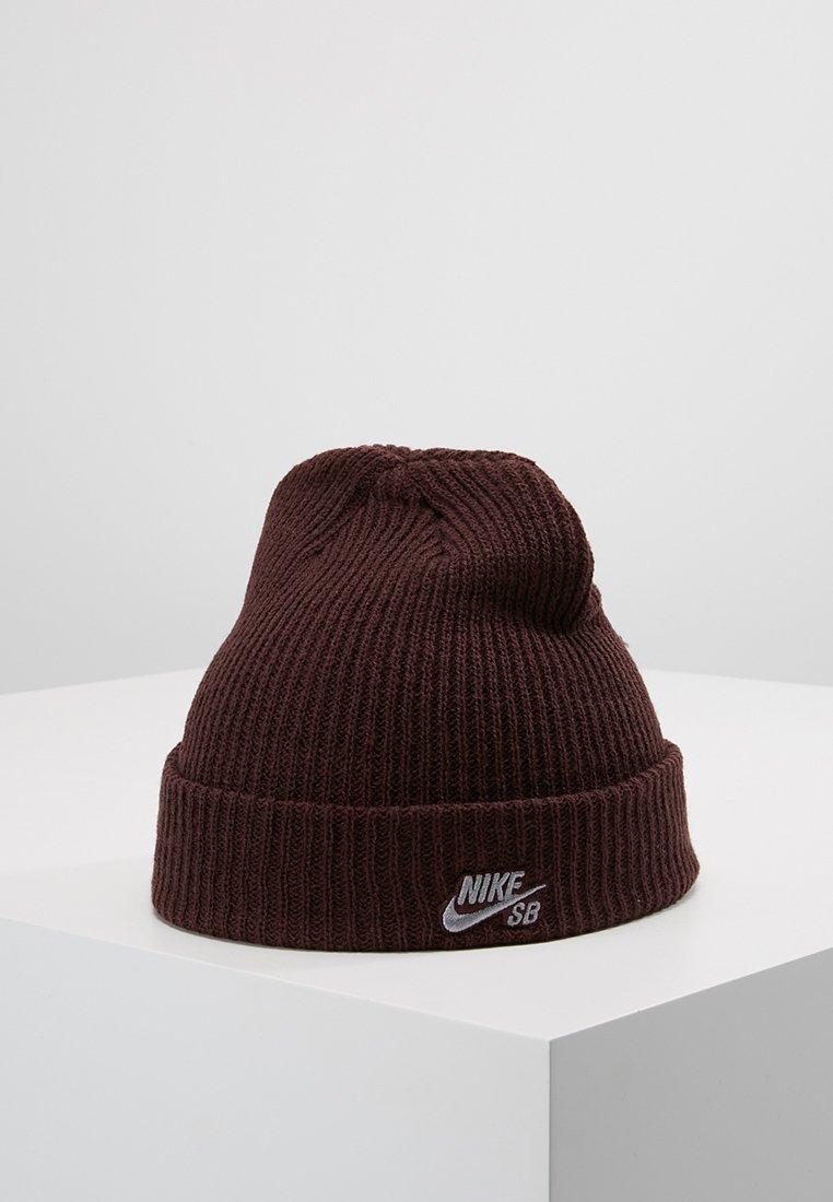 Nike SB - FISHERMAN BEANIE - Mütze - burgundy crush/gunsmoke