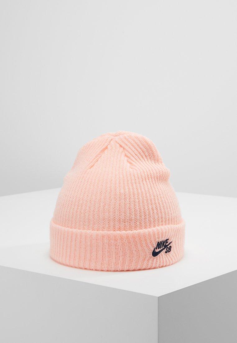 Nike SB - FISHERMAN BEANIE - Gorro - storm pink/obsidian