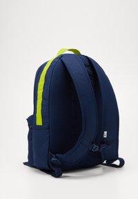 Nike SB - ICON - Batoh - midnight navy/bright cactus/black - 2