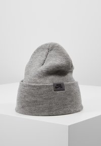 Nike SB - UTILITY - Beanie - dark grey heather/black - 0