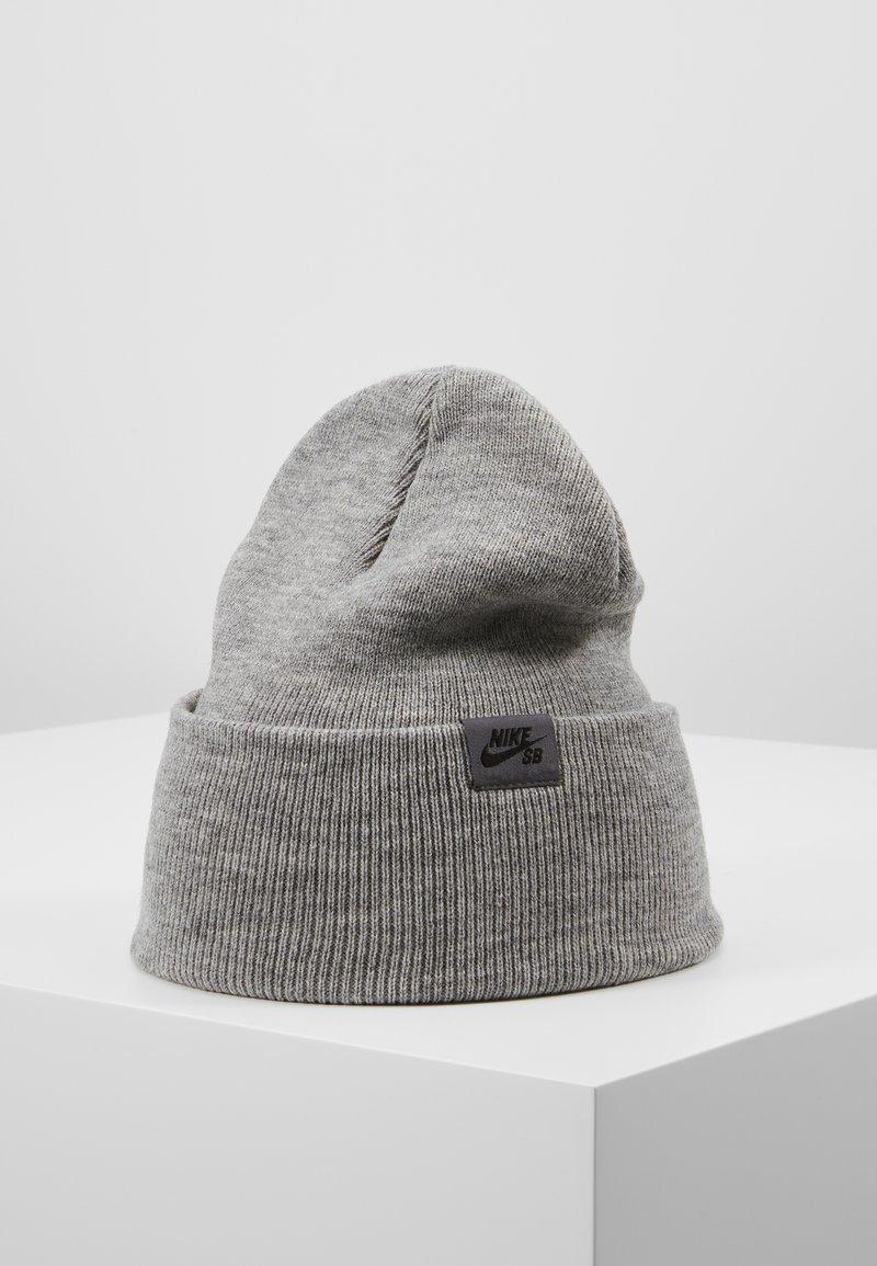 Nike SB - CAP UTILITY BEANIE - Beanie - dark grey heather/black