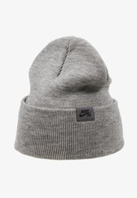 Nike SB - UTILITY - Beanie - dark grey heather/black - 4