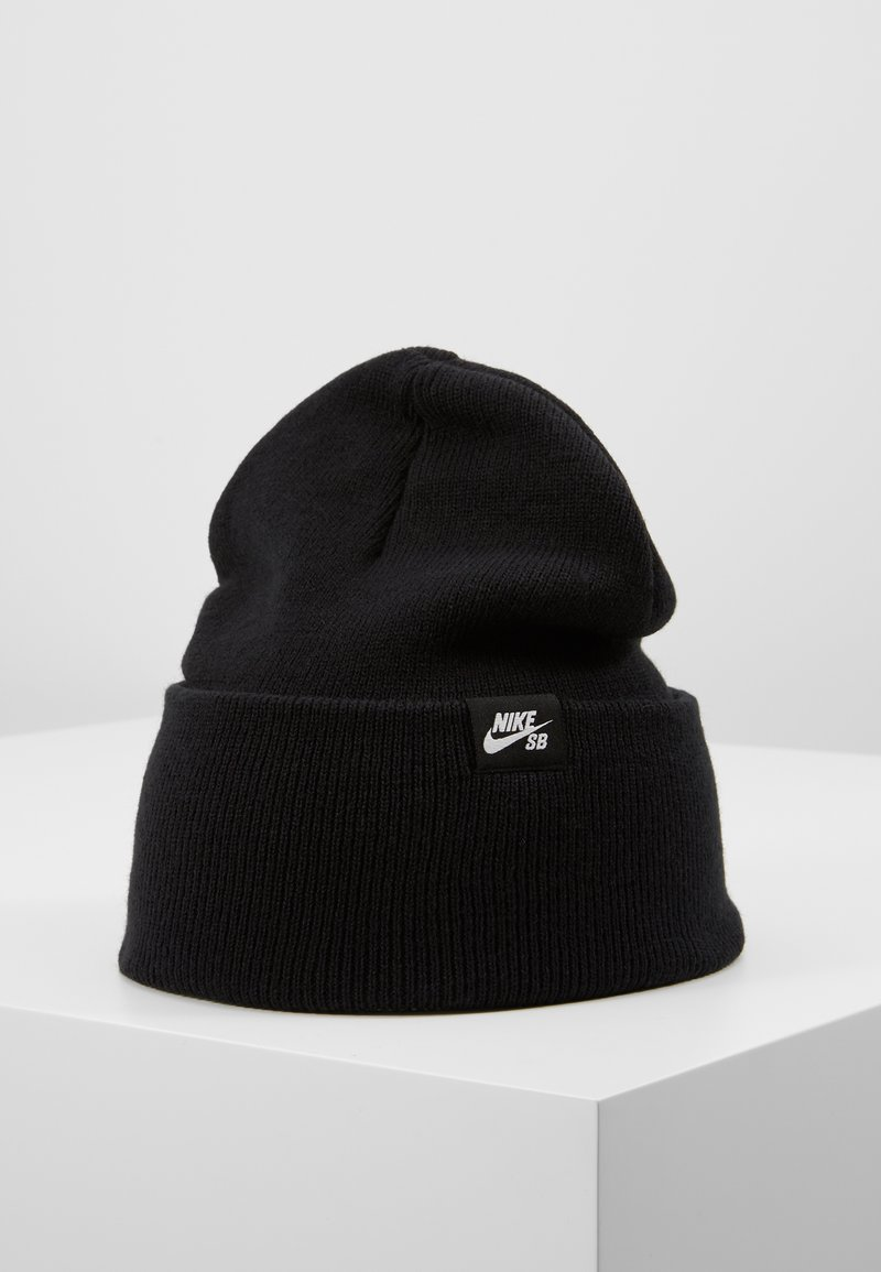 Nike SB - CAP UTILITY BEANIE - Beanie - black/white