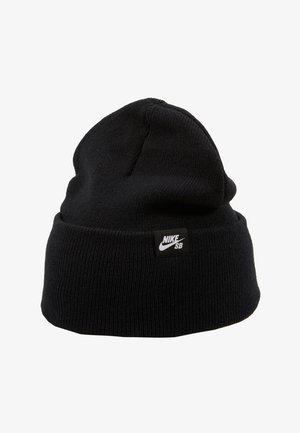 CAP UTILITY BEANIE - Gorro - black/white