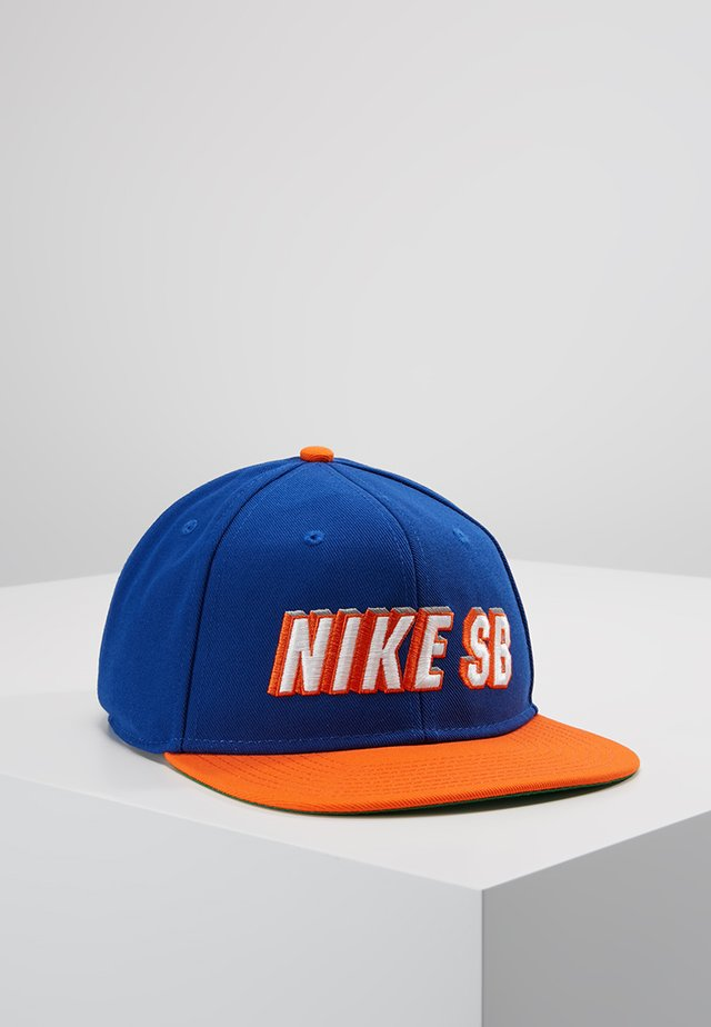 PRO CAP  - Lippalakki - rush blue/brilliant orange