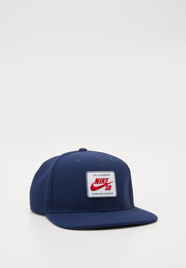 AROBILL PRO  - Cap - midnight navy/university red