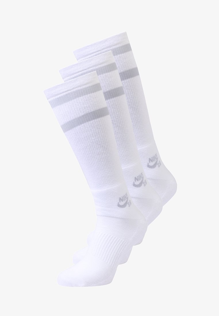 Nike Sportswear - CREW SOCKS 3 PACK - Calcetines - white/wolf grey