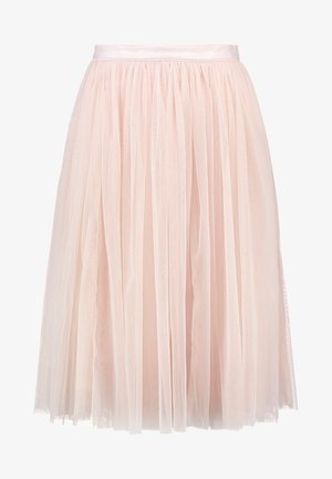 TULLE MIDI SKIRT - A-line skirt - petal pink