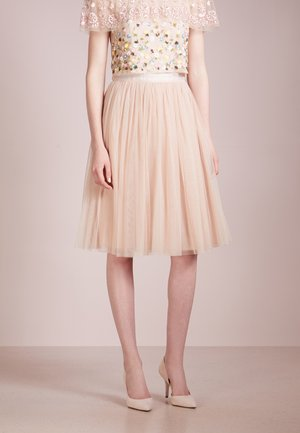 TULLE MIDI SKIRT - Gonna a campana - petal pink