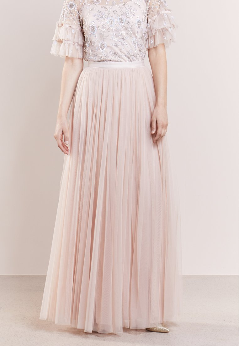 Needle & Thread - Maxi skirt - petal pink