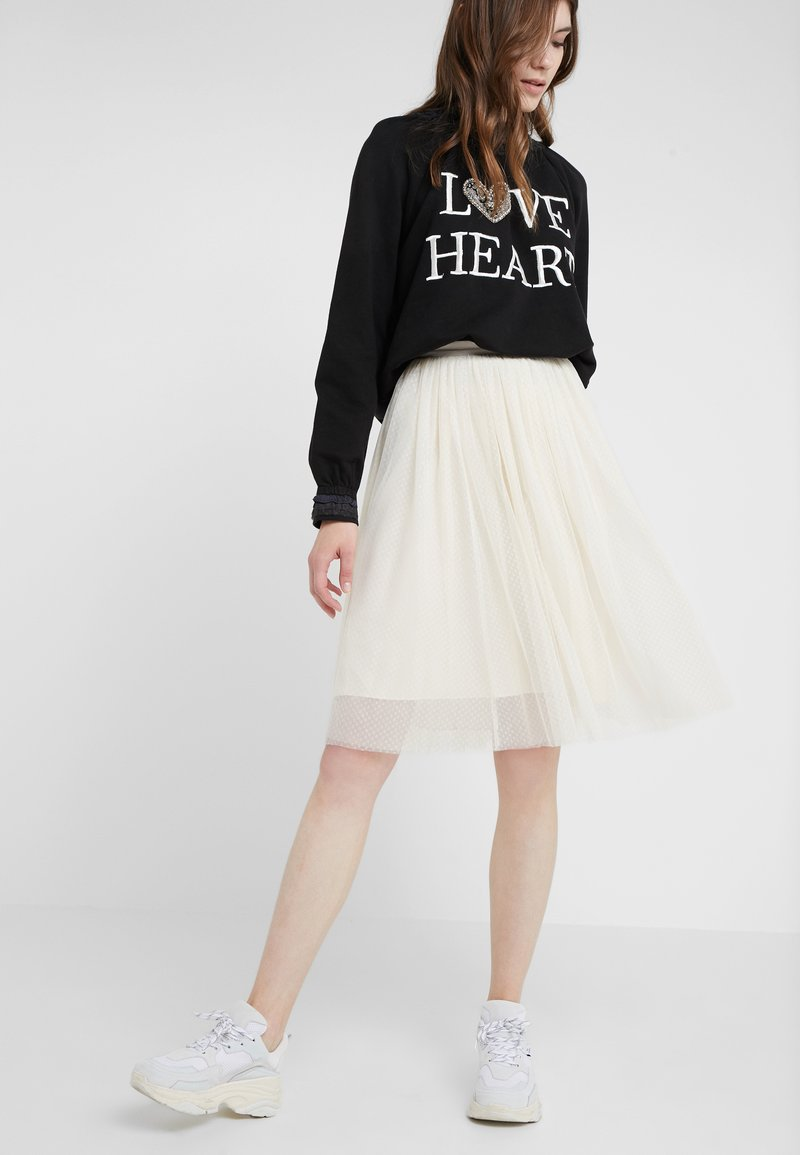 Needle & Thread - MIDI SKIRT - A-Linien-Rock - champagne