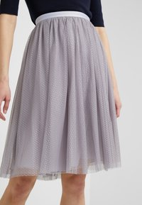 Needle & Thread - MIDI SKIRT - A-line skjørt - vintage lavender