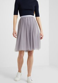 Needle & Thread - MIDI SKIRT - A-line skjørt - vintage lavender - 0