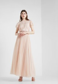 Needle & Thread - DOTTED MAXI SKIRT - A-line skirt - rose quartz - 1