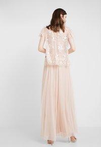 Needle & Thread - DOTTED MAXI SKIRT - A-line skirt - rose quartz - 2