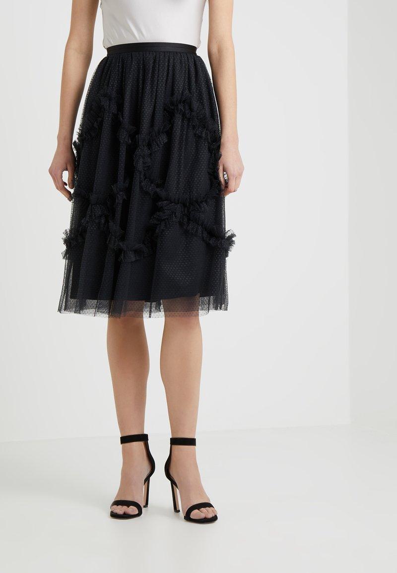 Needle & Thread - FAIRY TALE SKIRT - A-lijn rok - washed black