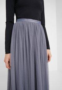 Needle & Thread - DOTTED MAXI SKIRT - Pleated skirt - thistle blue - 4