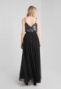 Needle & Thread - DOTTED MAXI SKIRT - Pleated skirt - ballet black - 2