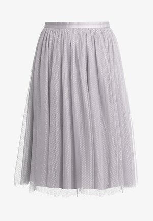 DOTTED MIDI SKIRT - Gonna a campana - orchid