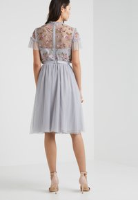 Needle & Thread - DOTTED MIDI SKIRT - A-line skjørt - dusk blue - 2