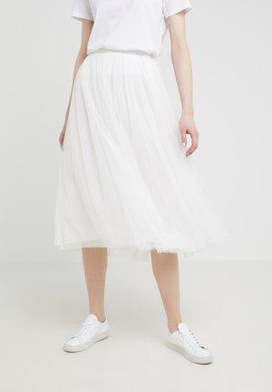 DOTTED SKIRT - Áčková sukně - ivory