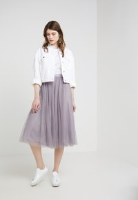 Needle & Thread - DOTTED SKIRT - A-line skjørt - vintage lavender - 1