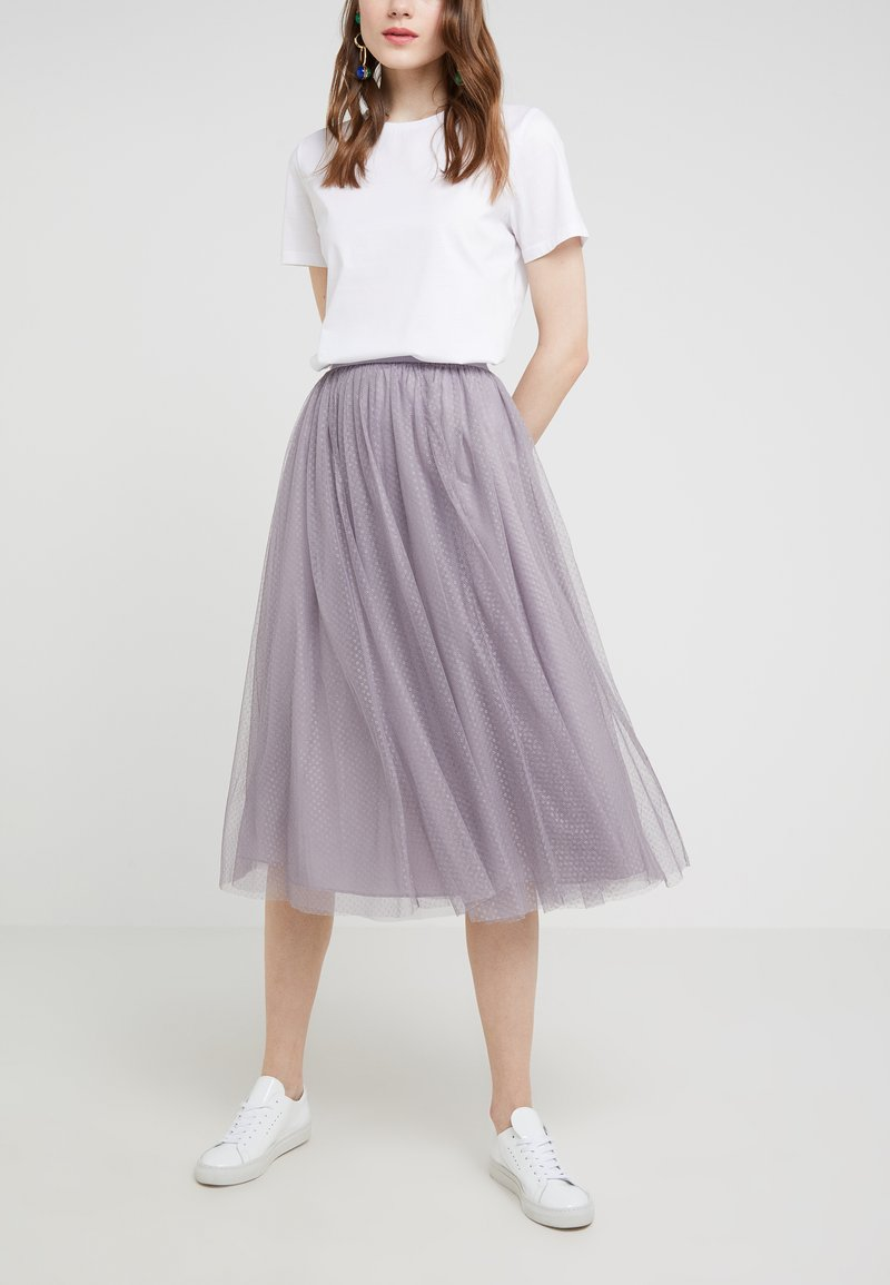 Needle & Thread - DOTTED SKIRT - A-line skirt - vintage lavender