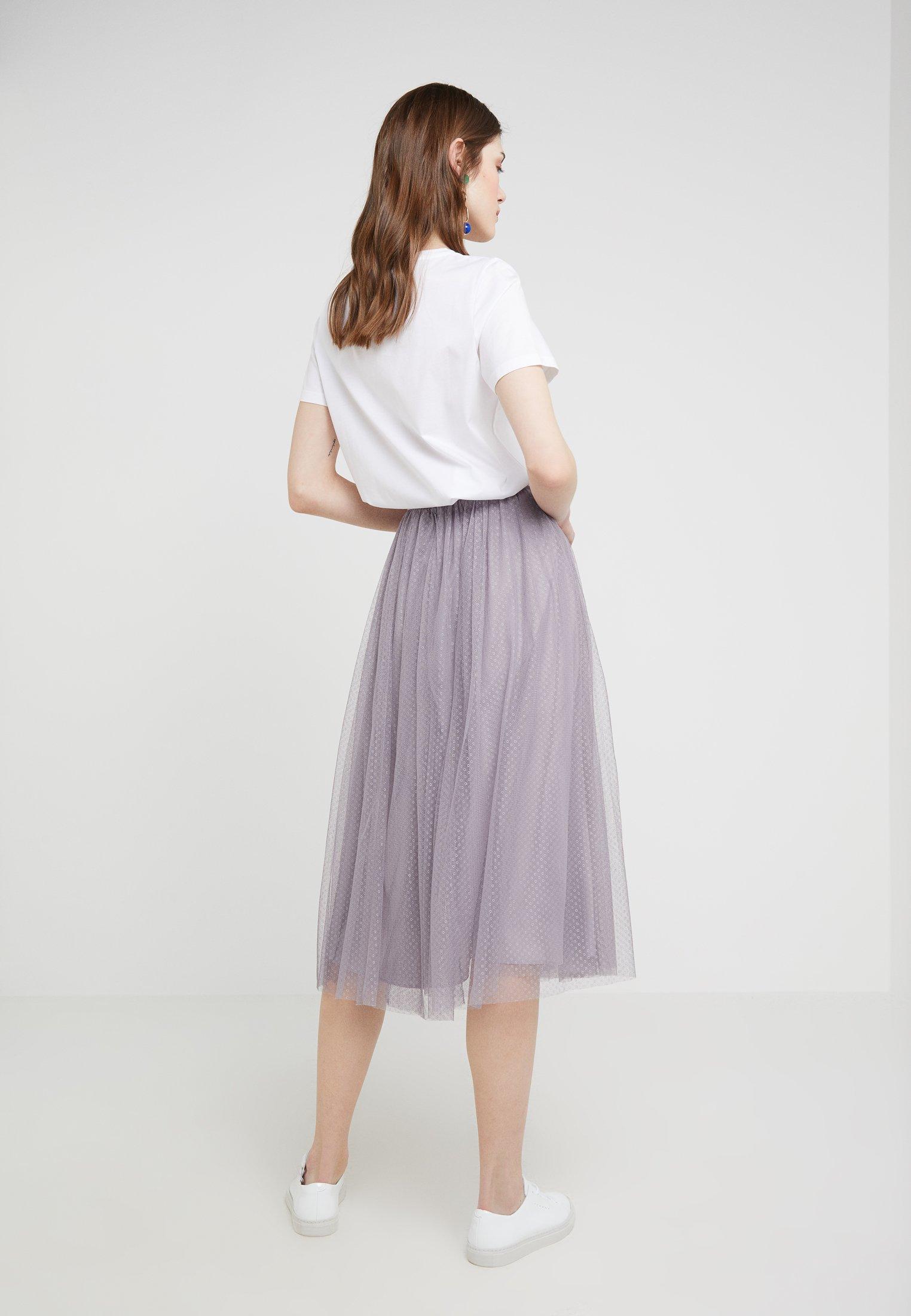 Needleamp; Trapèze Vintage SkirtJupe Thread Dotted Lavender WE2D9HI