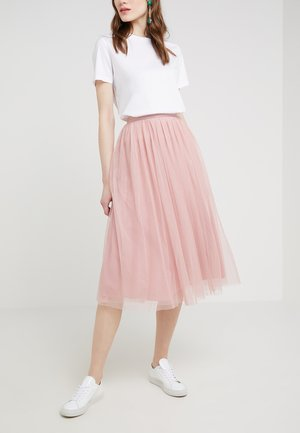 DOTTED SKIRT - A-lijn rok - rose petal