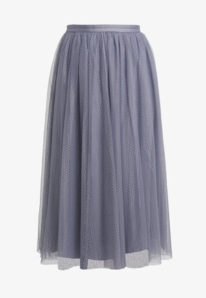DOTTED SKIRT - A-line skjørt - thistle blue