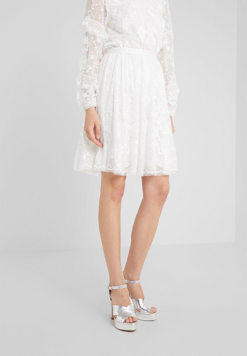 Needle & Thread - ELEANOR SKIRT - A-line skirt - ivory