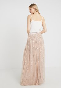 Needle & Thread - SHIMMER SKIRT - Gonna a campana - pink - 2