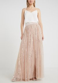 Needle & Thread - SHIMMER SKIRT - Gonna a campana - pink - 0