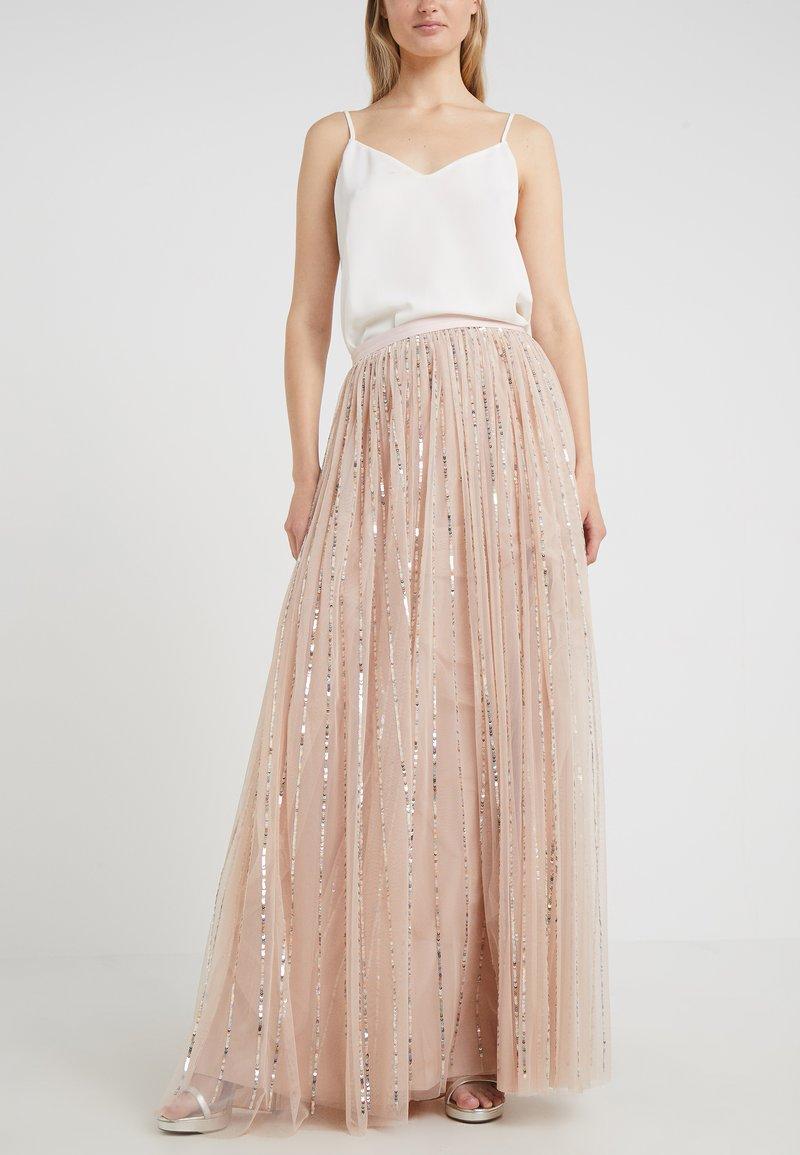 Needle & Thread - SHIMMER SKIRT - A-line skirt - pink