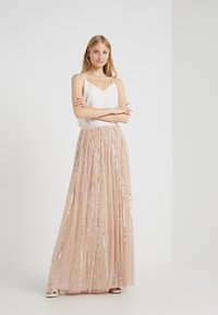 Needle & Thread - SHIMMER SKIRT - Gonna a campana - pink - 1