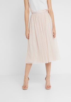KISSES MIDAXI SKIRT - Gonna lunga - french rose