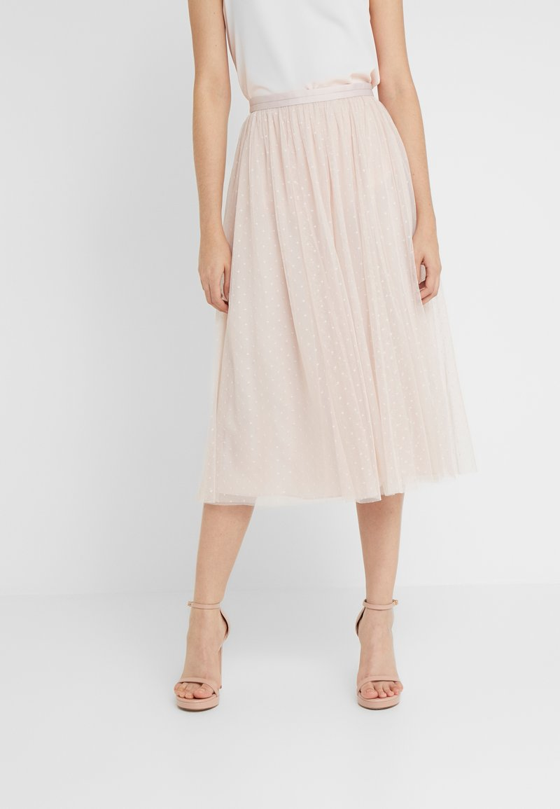 Needle & Thread - KISSES MIDAXI SKIRT - Jupe longue - french rose