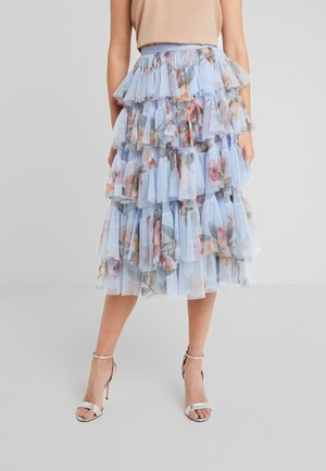 VENETIAN ROSE MIDAXI SKIRT - Pouzdrová sukně - dust blue