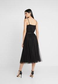 Needle & Thread - KISSES TULLE MIDAXI SKIRT - Maxi sukně - ballet black - 2