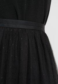 Needle & Thread - KISSES TULLE MIDAXI SKIRT - Maxi sukně - ballet black - 4